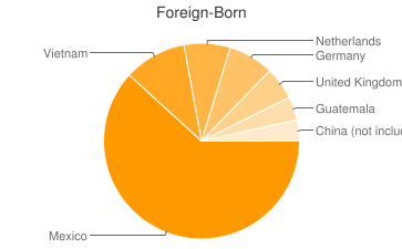 Most Common Foreign Birthplaces in49442